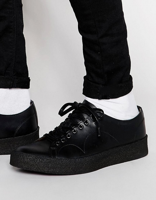 Fred Perry X George Cox Leather Trainer