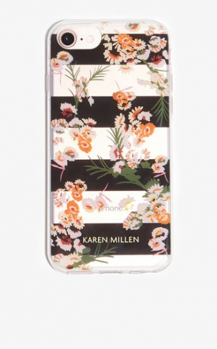 Karen Millen Floral-Print IPhone Case