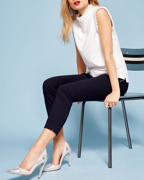 Ted Baker Split Hem Cropped Trouser