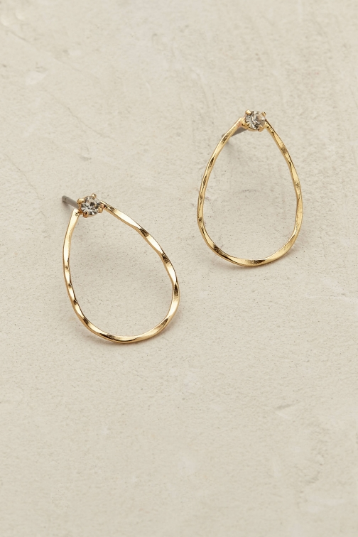 Anthropologie Haven Teardrop Earring