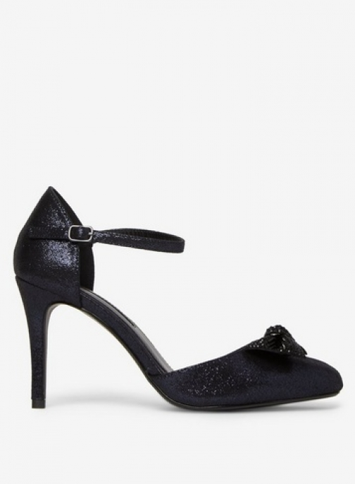 Dorothy Perkins Womens Navy 'Groove' Court - Blue, Blue Shoes