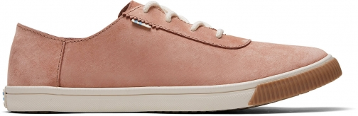 Toms Sand Pink Nubuck Women's Carmel Sneakers Shoes Trainer