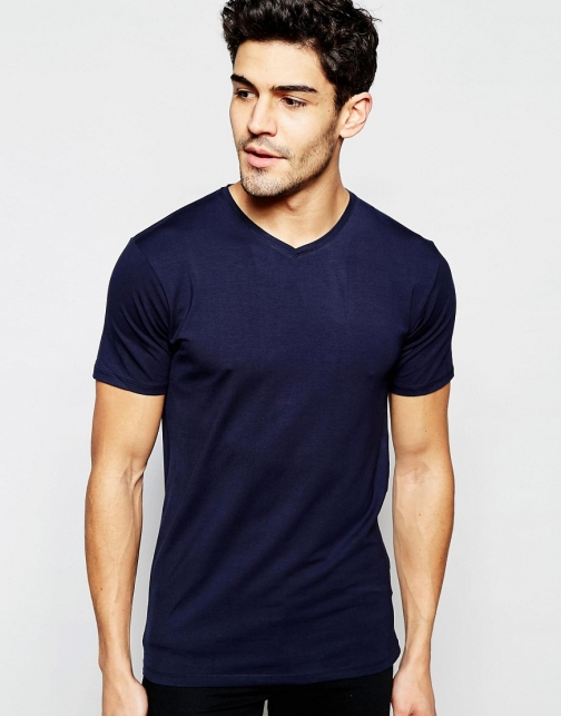Selected Homme V-Neck T-Shirt