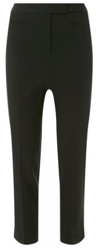 Dorothy Perkins Black Short Straight Trouser