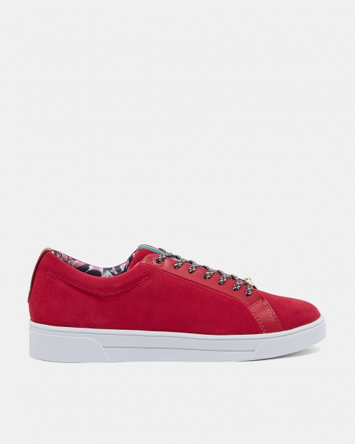 Ted Baker Suede Tennis Trainer