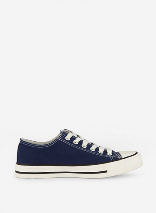 Dorothy Perkins Navy Canvas Trainer