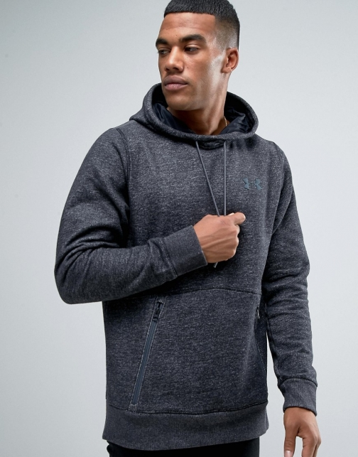Under Armour Varsity PO Black 1285081-002 Hoodie