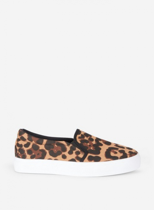 Dorothy Perkins Multi Coloured Leopard Print 'Ivy' Trainer