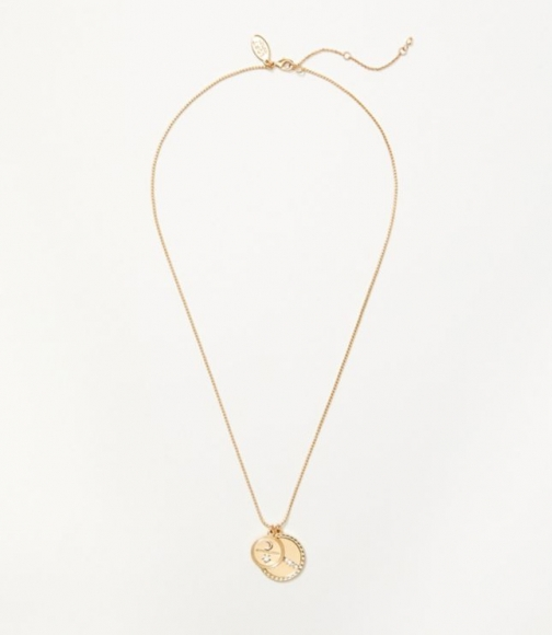 Loft Coin Cluster Necklace