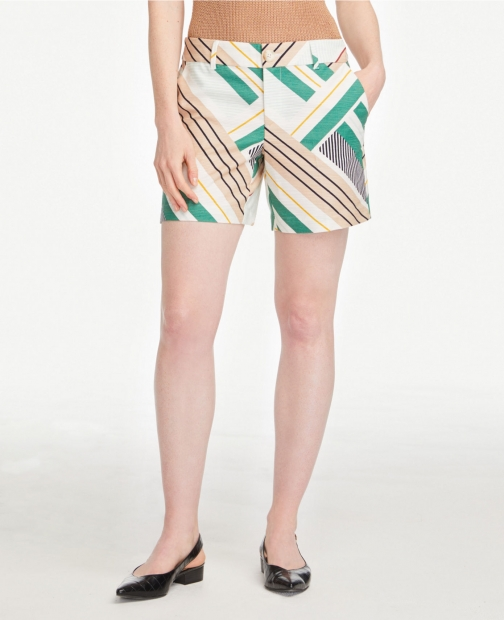 Ann Taylor Textured With 6 Inch Inseam Short