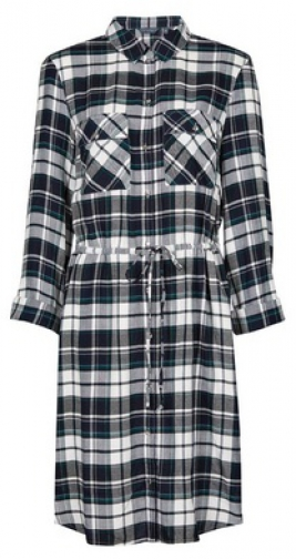 Dorothy Perkins Tall Multi Coloured Check Print Shirt Dress