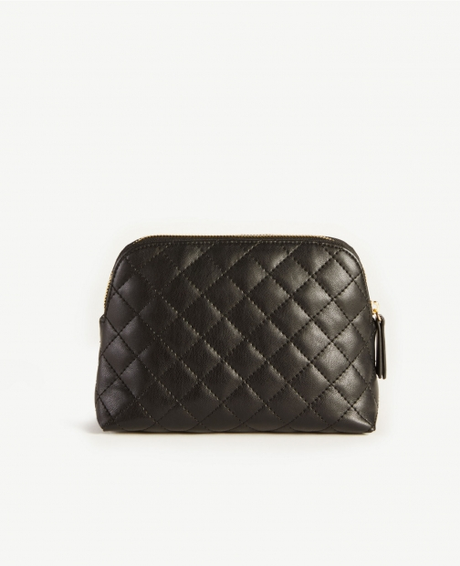 Ann Taylor Quilted Cosmetic Case