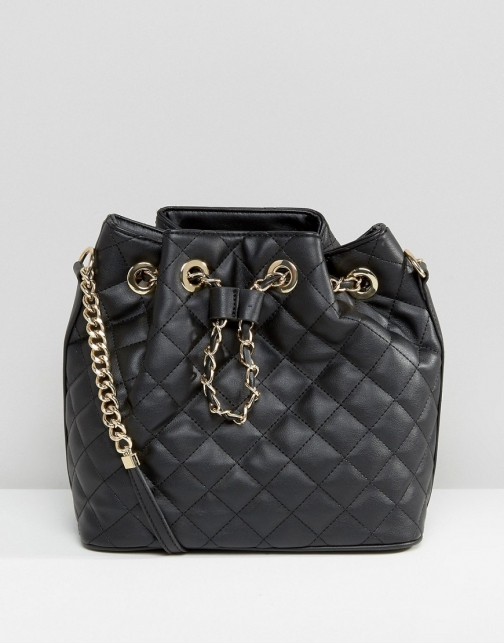 Aldo Quilted Duffle Bag