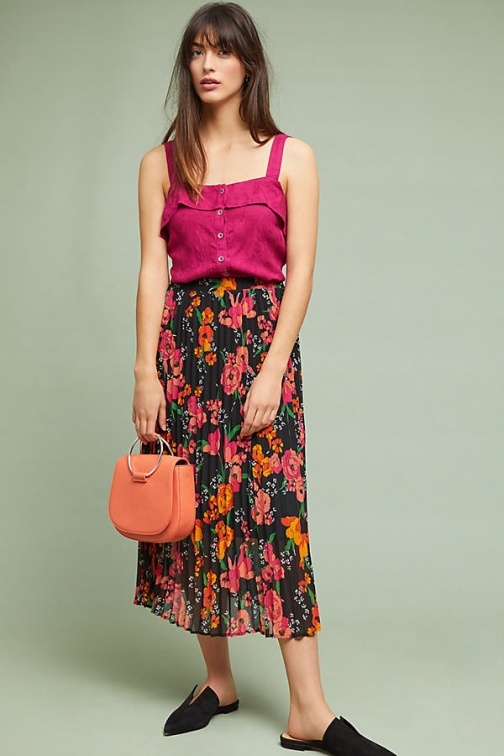 Anthropologie Moe - Assorted, Size Pleated Skirt