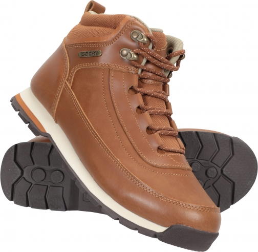 Mountain Warehouse Pilgrim Womens Waterproof Outdoor Leather- - Brown Boot