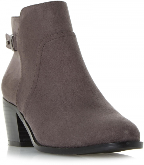 Head Over Heels Pascalle Side Zip Buckled Ankle Boot