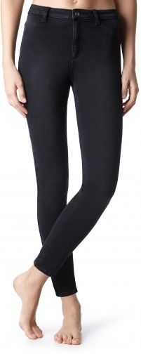 Calzedonia - Slim-Fit Sexy , S, Black, Women Jeans