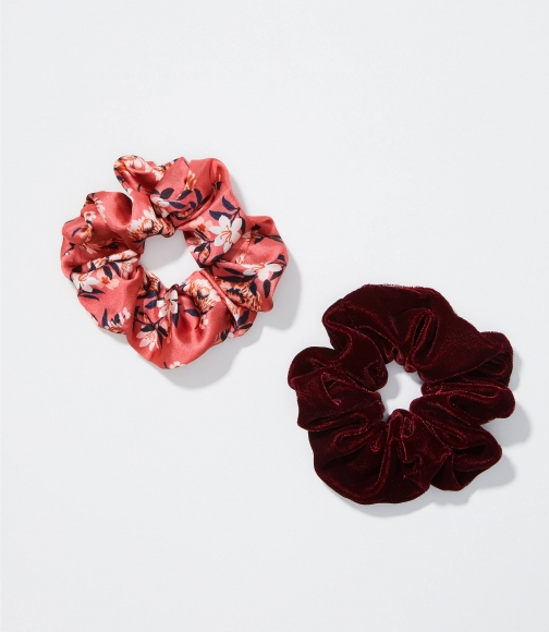 Loft Floral Scrunchie Set Headwear