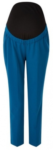 Dorothy Perkins Maternity Sapphire Overbump Ankle Grazer Trousers Trouser