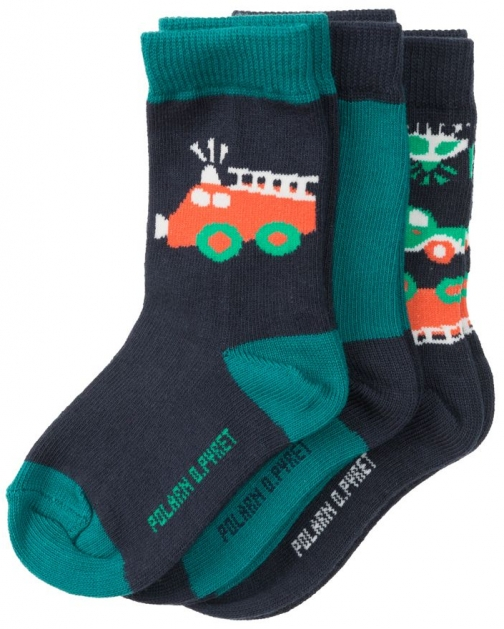 Polarn O. Pyret Baby Boys Colourful Sock