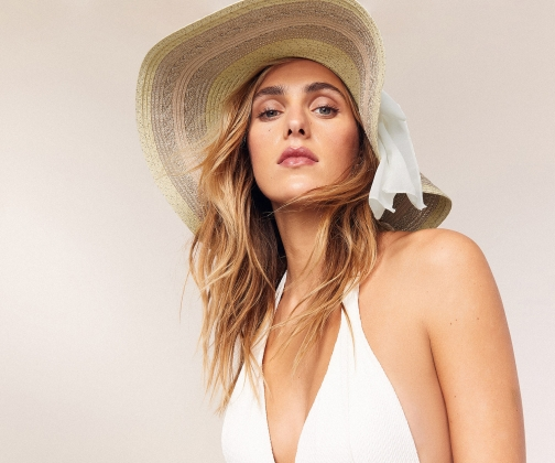Oasis Floppy With Bow Hat