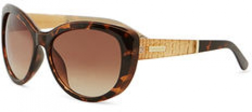 Karen Millen Tortoise Cat-Eye Sunglasses