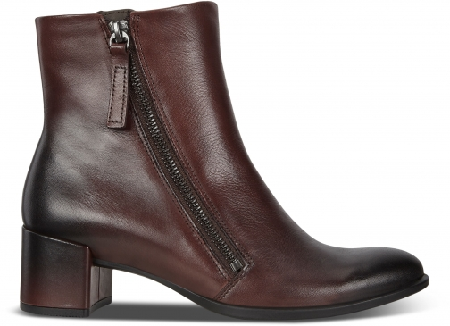 Ecco Shape 35 Womens Block Zippered Ankle Boot