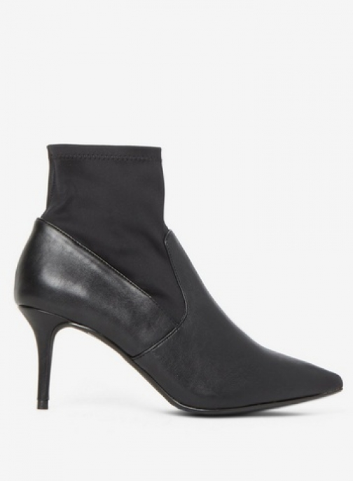 Dorothy Perkins Womens Wide Fit Black 'Motion' - Black, Black Ankle Boot