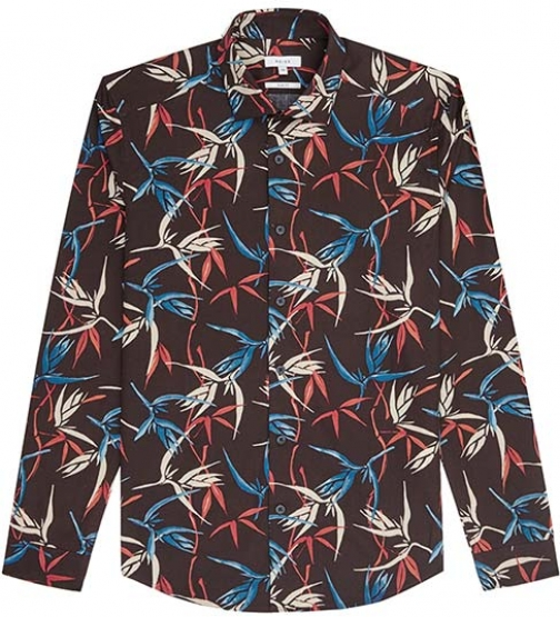 Reiss Tikki Printed Shirt