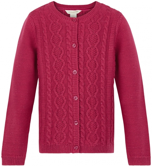 Monsoon Girls Carla Cable Cardigan