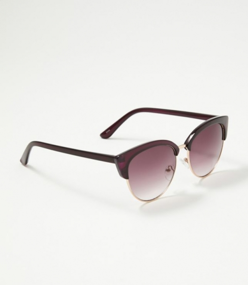Loft Colorblock Trim Sunglasses