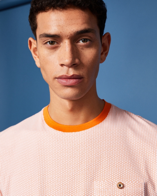 Ted Baker Printed Cotton-blend T-Shirt