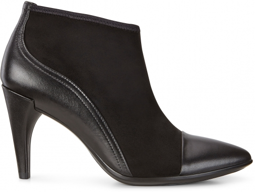 Ecco Shape 75 Pointy Ankle Boo Size 4-4.5 Black Boot