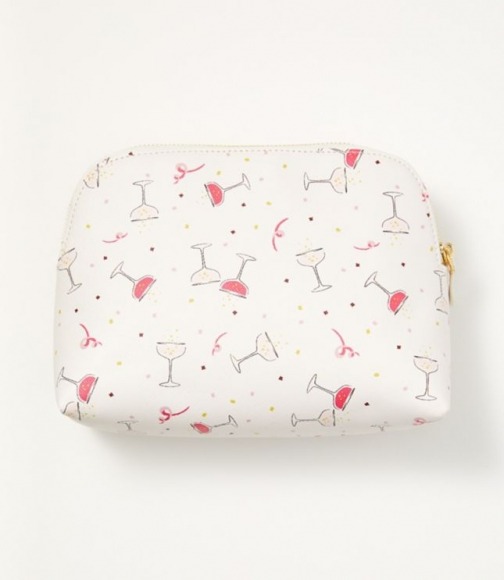 Loft Champagne Cosmetic Pouch