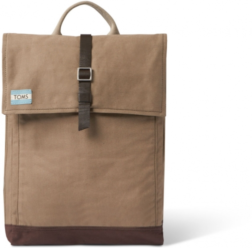 Toms Olive Utility Canvas Trekker Backpack