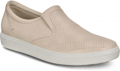 Ecco Soft 7 Womens Pared Back Slip-on Shoes
