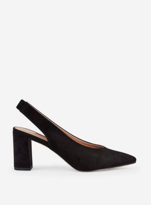 Dorothy Perkins Wide Fit Black 'Everley' Shoes Court