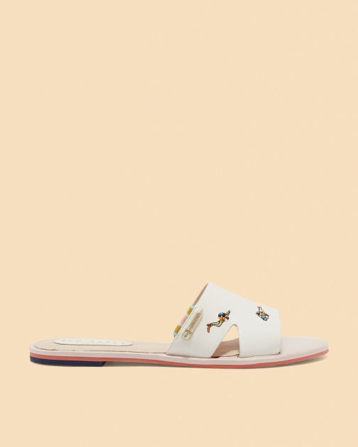Ted Baker Swimmers Embroidered Slider