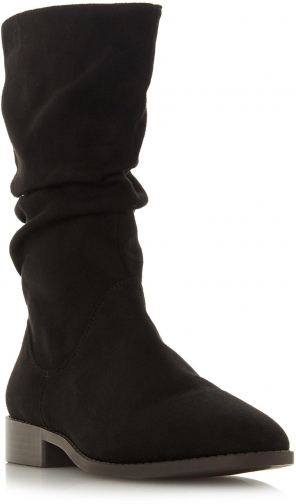 Head Over Heels Reagan Flat Slouch Calf Boot