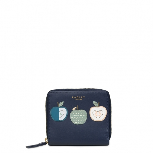 Radley An Apple A Day Small Zip Around Purse