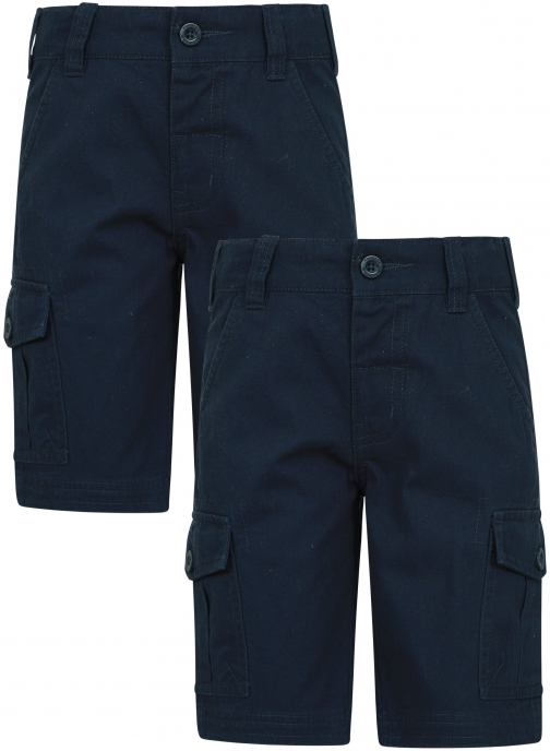 Mountain Warehouse Kids Cargo Multipack - Navy Short