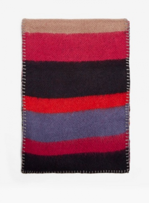 Dorothy Perkins Womens Multi Neon Pop Striped - Multi Colour, Multi Colour Scarf
