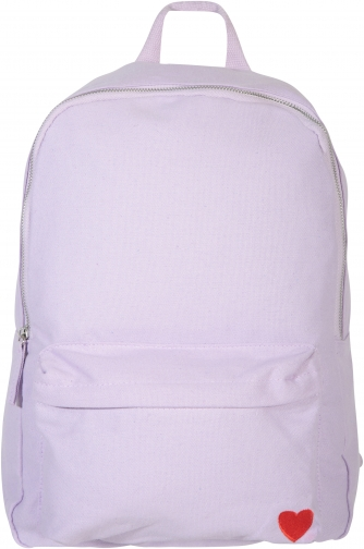 Mountain Warehouse Embroidered Canvas - Purple Backpack