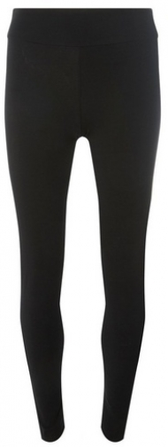 Dorothy Perkins Womens Black Cotton - Black, Black Legging