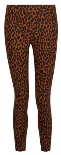 Dorothy Perkins Petite Toffee Leopard Print Trousers Trouser