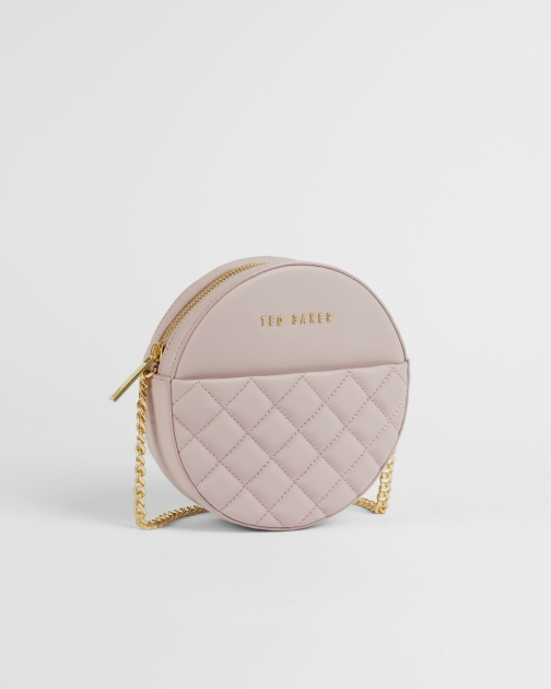 Ted Baker Quilted Leather Cross-body Bag Crossbody Bag