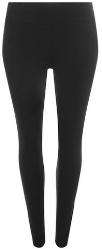 Dorothy Perkins Womens **DP Curve Black Cotton Elastane - Black, Black Legging