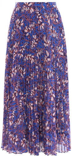 Karen Millen Floral Pleated Skirt