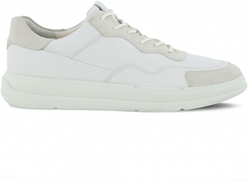 Ecco Soft X Mens Shoe Sneakers Size 5 Shadow White Trainer