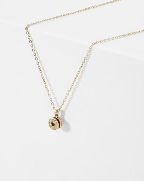 Ted Baker Biscuit Button Pendant
